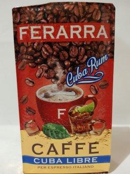 Кава мелена Ferarra Caffe Cuba Libre з ароматом кубинського рому 250г