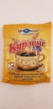 Нерастворимый молотый напиток на основе злаков и цикория Курземе Цикоринка 250г