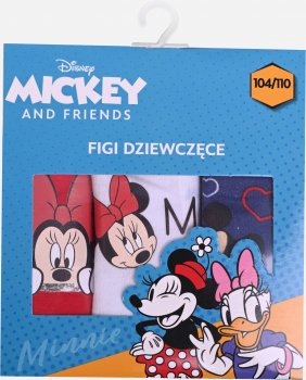 Трусы Disney Minnie DISMF523373003-PACK Красный/Белый