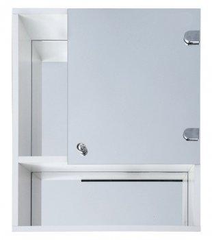 Шкаф с зеркалом Seria A № А02-50 для ванной комнаты (600 x 500 x 125)