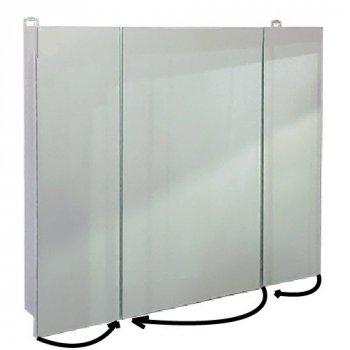 Зеркальный шкафчик панорамного типа Seria A №А 20-70 (700 x 700 x 145)