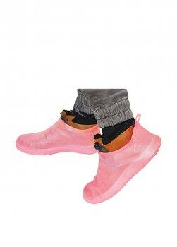 Бахилы для обуви многоразовые р.41-42 розовый BR25629