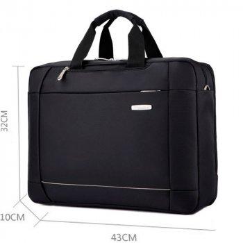 Сумка-рюкзак Moumantu трансформер чорна 54347