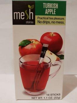 Чай фруктовый яблочный Mesh stics в стиках 16шт по 2г