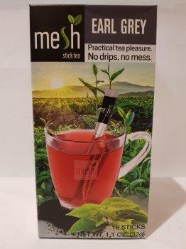 Чай черный с бергамотом Mesh stics в стиках 16шт по 2г