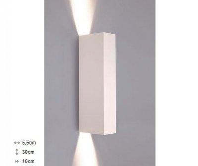 Світильник настінний Nowodvorski MALMO білий 9704