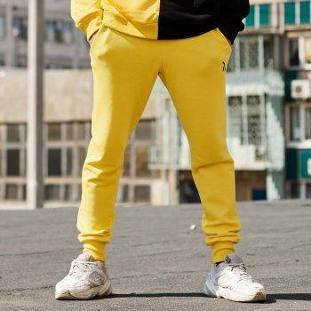 Спортивные штаны Пушка Огонь Jog желтые