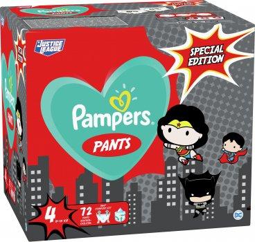 Підгузки-трусики Pampers Pants Special Edition Розмір 4 (9-15 кг) 72 шт. (8001841968254)