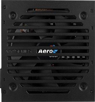 Блок живлення AEROCOOL VX PLUS 600 600W v.2.3 Fan12см 78+ max Brown box