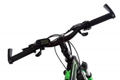 """Электровелосипед Kerambit 26"""" 17"""" 36V 10Ah 500W чёрно-зелёный (EVKCHZ)"""