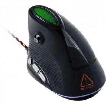 Мышка CANYON Emisat USB Black (CND-SGM14RGB)
