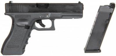 Пневматичний пістолет East & Crane Glock 17 EC-1101 Black (19371)