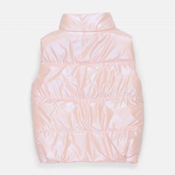 Демісезонний жилет Одягайко 72100 Світло-рожевий