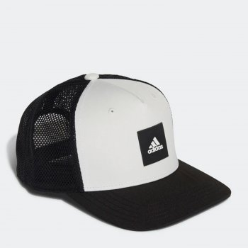 Кепка Adidas Snapba Trck Cap GM6284 OSFW (L) Cwhite/Black/White (4064044202482)