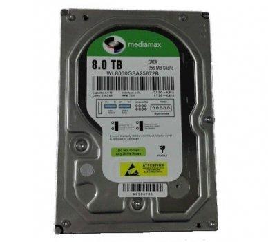 Жорсткий диск Mediamax 7200rpm 8TB HDD 256MB WL8000GSA25672B 3.5 SATAIII