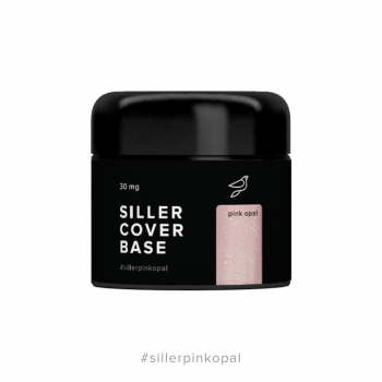 Комуфлирующая база Cover Base Siller OPAL PINK 30 мл