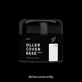 Комуфлирующая база Cover Base Siller MILKY 30 мл