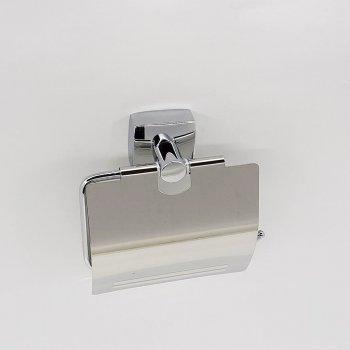 Тримач для туалетного паперу з кришкою JM (7251)