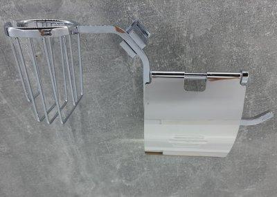 Тримач для туалетного паперу з кришкою JM (226851-2)