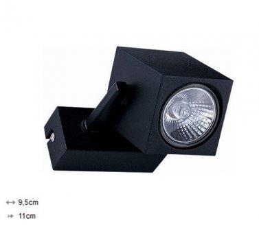 Світильник Nowodvorski CUBOID 8806 чорний