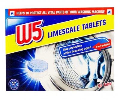 Таблетки от накипи W5 51 шт., Германия