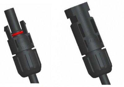 Конектор сонячний MC4 (пара)
