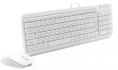 Комплект дротовий A4Tech Fstyler F1512 USB White (4711421958004)
