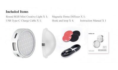 LED-RGB свет Godox R1 мобильные источники света (Godox R1)
