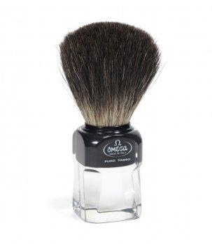 Помазок для гоління Omega 33174 на підставці борсук