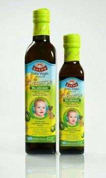 Грецьке дитяче оливкове масло NUTRIA BABY Extra Virgin Eleon, 250мл с/б