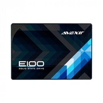 "Накопичувач SSD 120Gb Avexir E100 Series, SATA3, 2.5"", TLC, 550/370 MB/s(AVSSDS3E100Z-120)"