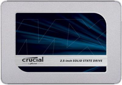 "Накопичувач SSD 500Gb Crucial MX500, SATA3, 2.5"", TLC 3D NAND, 560/510 MB/s (CT500MX500SSD1)"