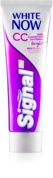 Отбеливающая зубная паста SIGNAL WHITE NOW СС BRIGHT 75мл
