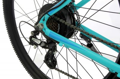 "Жіночий електровелосипед E-motion City GT 27,5"" 36v 12Ah 500w / рама 19"" блакитний (EMCGT275GM)"