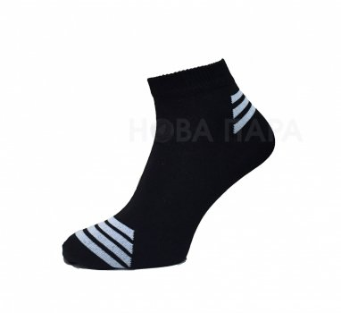 Носки Нова пара 463-348 короткая высота спорт черные