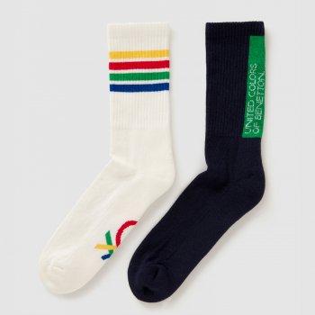 Носки United Colors of Benetton 6AO3H21U3-902 2 пары