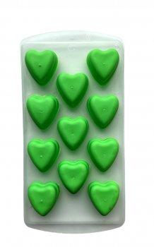 Силиконовая форма для льда Douba Сердце 11 ячеек