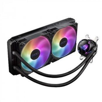 Система водяного охлаждения Asus ROG Strix LC II 280 ARGB (ROG-STRIX-LC-II-280 ARGB), Intel:1150/1151/1152/1155/1156/1366/2011/2011-3/2066, AMD:AM4/TR4, 315х143х30мм, 4-pin