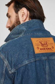 Чоловіча синя джинсова куртка D-ROLK-SP Diesel A02550 0HBAL