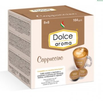 Кофе в капсулах Dolce Aroma Dolce Gusto Cappuccino 16 шт.