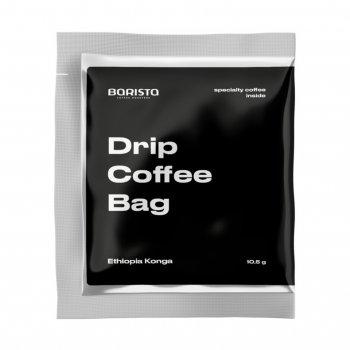 Кофе Barista Coffee Roasters свежеобжаренный Drip Coffee Bag Эфиопия Конга 5 шт