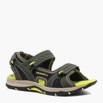 Сандалии Merrell Panther Sandal 2.0 Kids' Sandals MK264458 Оливковые