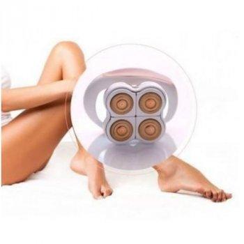 Женский портативный эпилятор Flawless Legs Pink аккумуляторная бритва для ног