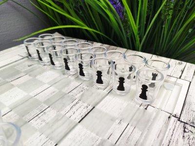 """Алко игра """"Пьяные шахматы"""" со стопками"""