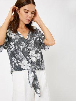 Блузка Koton 0KAK63024EW-G22 Black Design