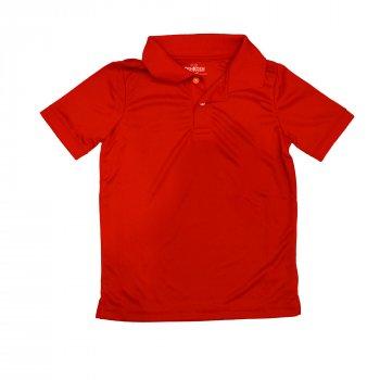 Поло для мальчика ( 1 шт.) OshKosh красное с воротником на пуговицах 59