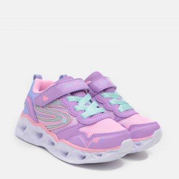 Кроссовки светящиеся Skechers 20294N LVMT Розовые