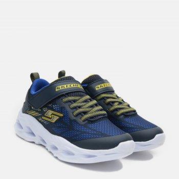 Кроссовки светящиеся Skechers 400030 Синие