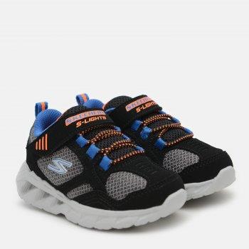 Кроссовки светящиеся Skechers 90750N BBOR Черные