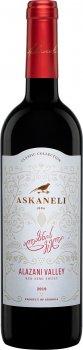 Вино Асканели Алазанская долина красное полусладкое 0.75 л 11-12% (4860053010014)
